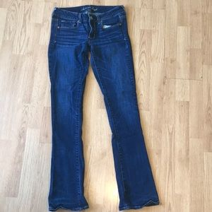 American eAgle 8L jeans skinny kick style